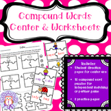 Compound Word Center and Worksheets