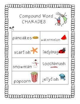 Compound Word Charades