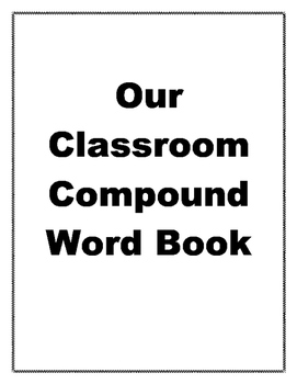 Compound Word - Class Book