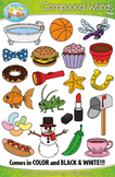 Compound Word Clipart Set 1 {Zip-A-Dee-Doo-Dah Designs}