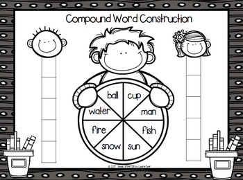 Compound Word Construction:  NO PREP Race to the Top Game
