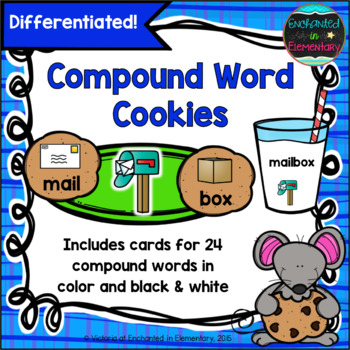 Compound Word Cookies: A Differentiated Center Activity