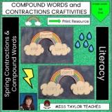 Compound Word Craftivity!  Spring Edition