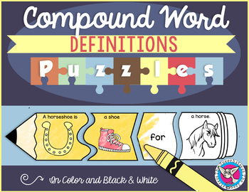 Compound Word Definitions Puzzles