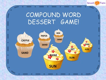 Compound Word Desserts!
