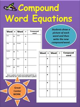 Compound Word Equations