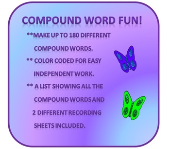 Compound Word Fun:-)