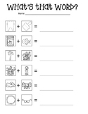 Compound Word Fun Practice Sheet