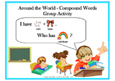 Compound Word Game, Activities and Learning Center