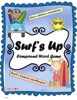 Compound Word Game - Surf's Up!