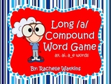 Compound Word Game with long /a/ words: ay, ai, and a_e