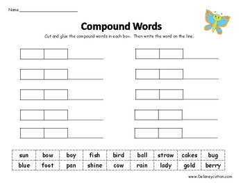Compound Word Games
