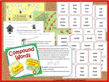 Compound Word Games: Compound Kickoff and In the Doghouse