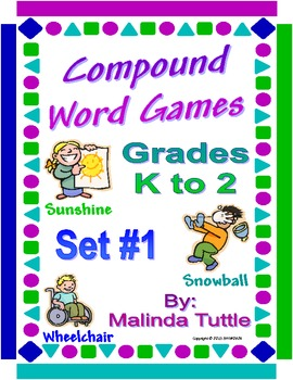Compound Word Games - Set 1