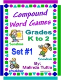 Compound Word Games - Set 1