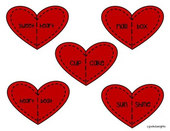 Compound Word Hearts