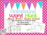 Compound Word Hunt for Upper Grades