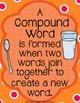 Breakfast Club Compound Words {Anchor Charts, Center, Work