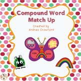 Compound Word Match Up {Self-correcting Pictures and Words}