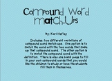 Compound Word Match-Ups
