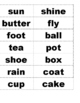 Compound Word Game for ELA/ Literacy Centers