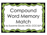 Compound Word Memory Match