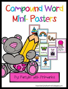 Compound Word Mini Posters