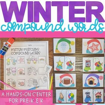 Winter Compound Word Activity