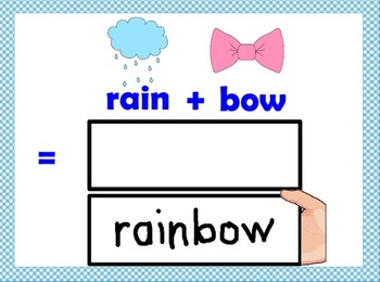 Compound Word Peek-A-Boos Flipchart