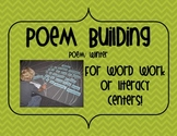 Compound Word Poem Building for Word Work or Centers~Winter Poem