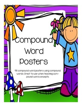 Compound Word Posters