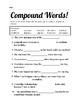 Compound Word Practice
