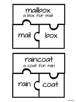 Compound Word Puzzle Activity
