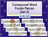 Compound Word Puzzle Pieces (Set 2)