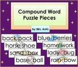Compound Word Puzzle Pieces