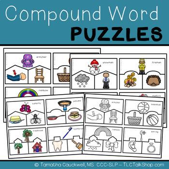 Compound Word Puzzles FREEBIE
