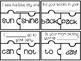 Compound Word Puzzles {Freebie!}