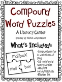 Compound Word Puzzles {A Literacy Center}