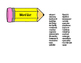 Compound Word Puzzles, Pencils