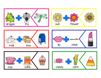 Compound Word Puzzles and Printables