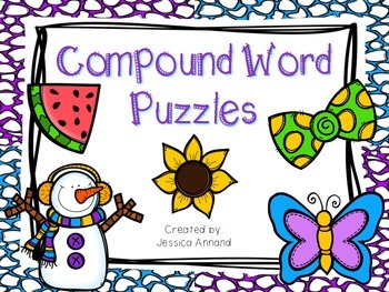 Compound Word Puzzles and Worksheets