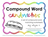 Compound Word Sandwich Worksheets