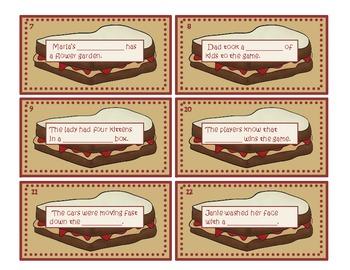 Compound Word Sandwiches!