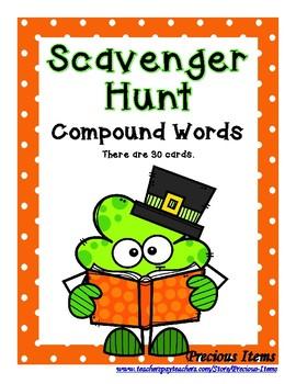 Compound Word Scavenger Hunt - St. Patrick's Day