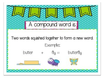Compound Word Scoot or Write the Room