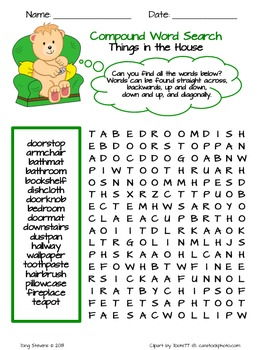Compound Word Search **FREE**