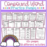 Compound Word Skill Page Activity Pack