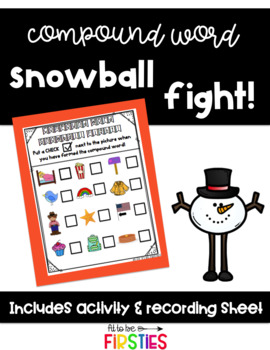 Compound Word Snowball Fight