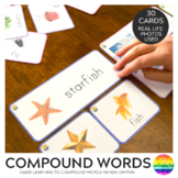 Compound Word Sorting Cards