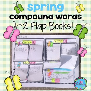 Compound Words Spring Flap Books!